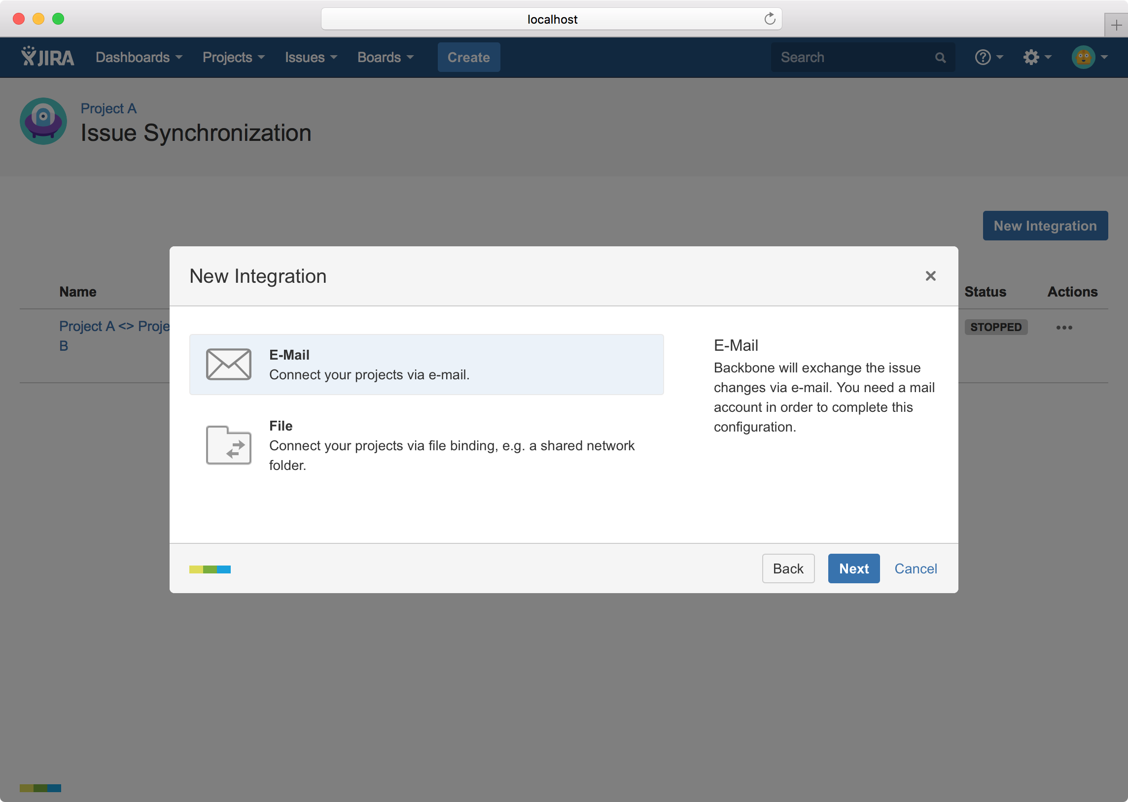 backbone-jira-issue-sync-distributed-configuration-protocol