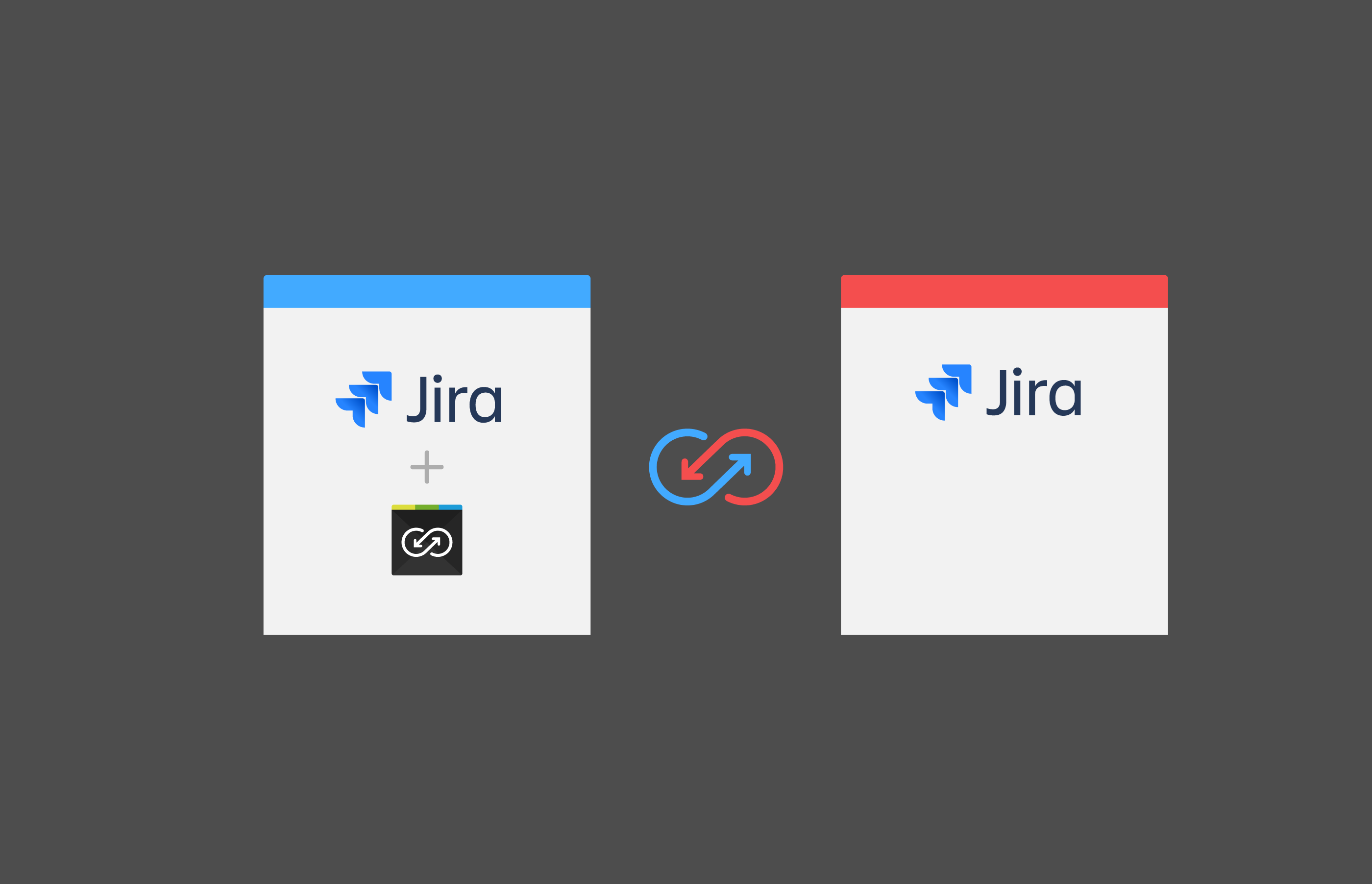 Synchronize Jira projects without installing Backbone