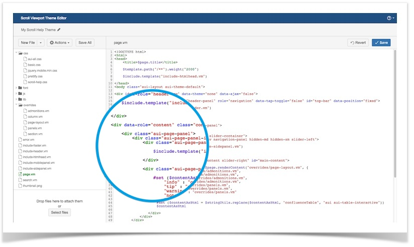Scroll Viewport 2 1: Introducing the Web-Based Theme Editor