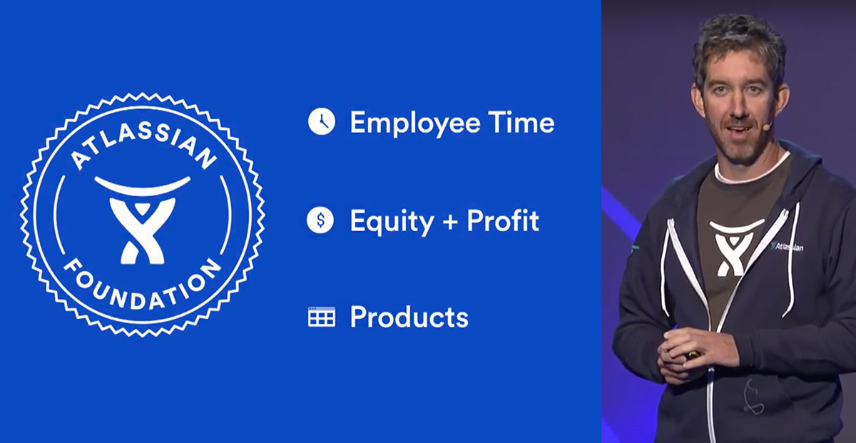 Atlassian Foundation and Scott Farquhar at Atlassian Summit Europe 2017