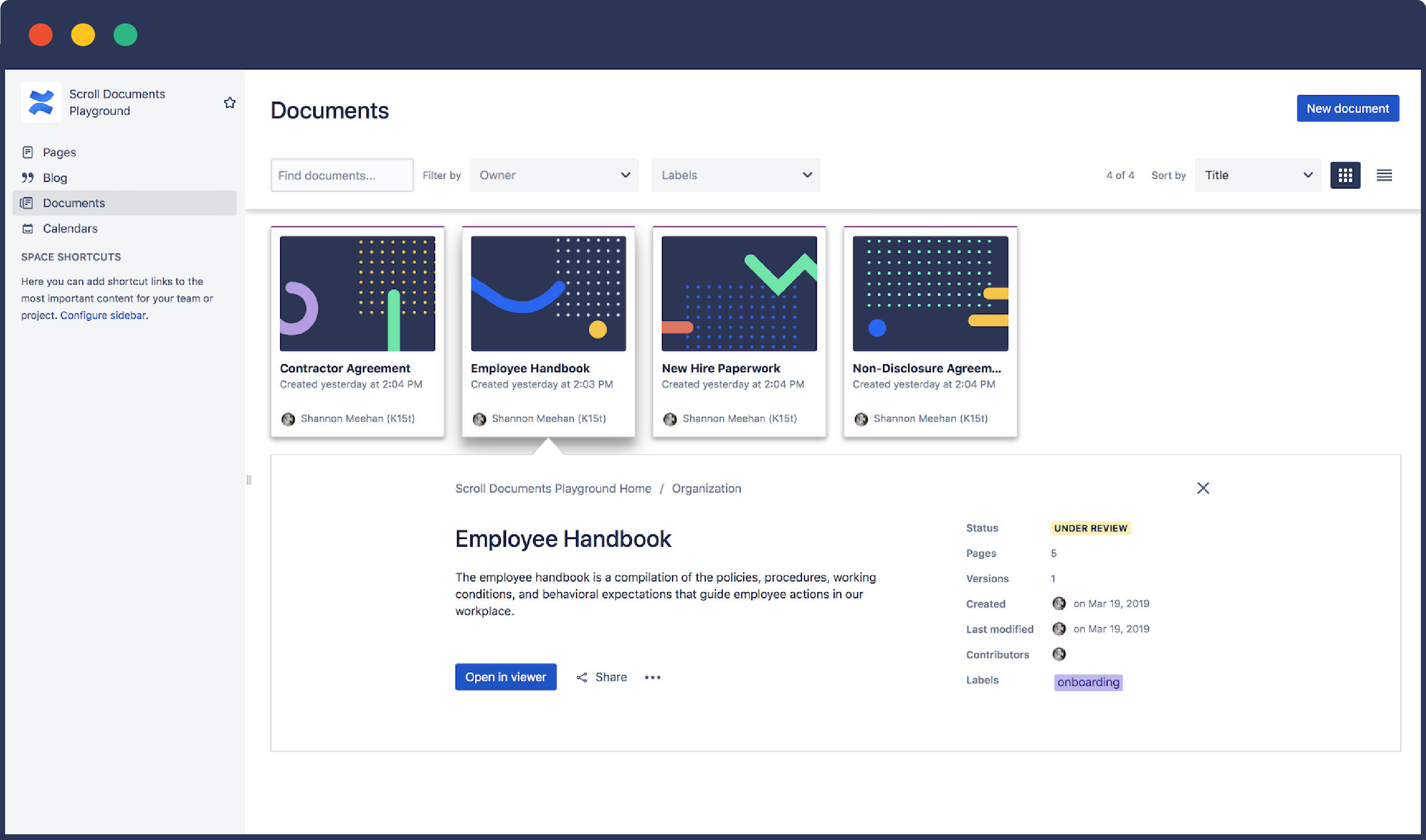 Scroll Documents for Confluence Overview